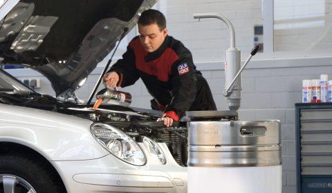 Обслужване на автомобил
