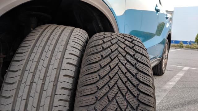 поставяне на зимните гуми навреме